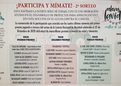 II SORTEO DE NAVIDAD 'PARTICIPA Y MIMATE'